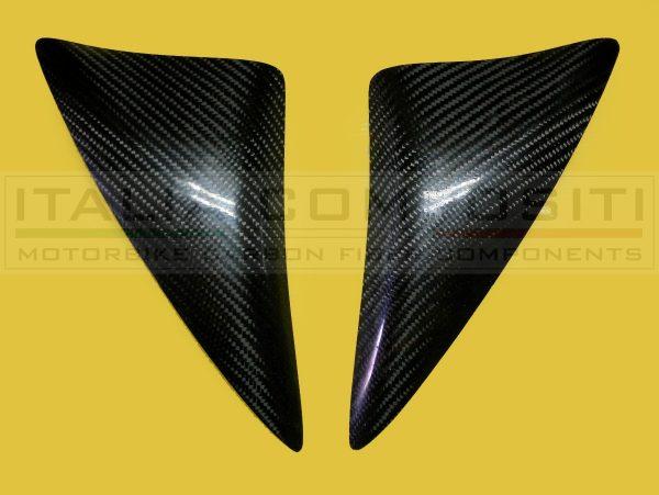 Kit Protezioni serbatoio - versione con carbonio trama Twill Racing