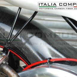 Parafango posteriore Aprilia Rs 250 - Esempio di montaggio