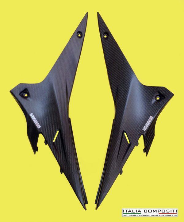 Fianchetti laterali APRILIA RSV4 / Tuono V4 - Finitura Opaca