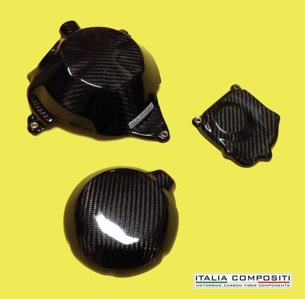 Kit protezione full (3 pz) carter motore KAWASAKI Z750 2003-2006
