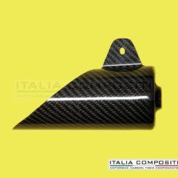 Protezione silenziatore 2T - con staffa di fissaggio intgrata