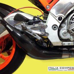 Protezione scarico Jollymoto Corsa 0120 - APRILIA RS 250 / SUZUKI RGV 250 VJ22