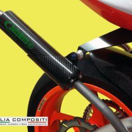 Protezione silenziatore 2T - con staffa di fissaggio integrata