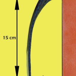 Staffa per silenziatore Akrapovic da 60mm APRILIA RSV4 / Tuono V4