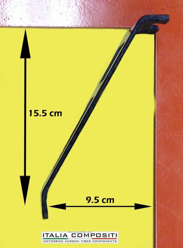 Staffa per scarico SC Project APRILIA RSV4 / Tuono V4